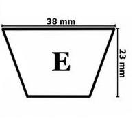 Ремни клиновые профиль E(Д)
